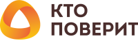 logo kto poverit without slogan